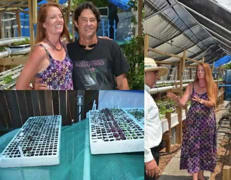 Susanne & Tim of Friendly Aquaponics