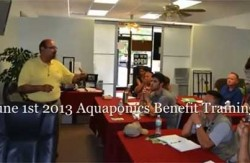 June 1st Feed Hunger Now : Aquaponics Training Benefit Event