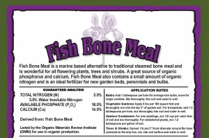 FISH MEAL BONE